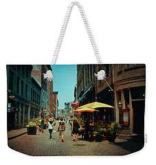 Old Montreal - Quebec Weekender Tote Bag
