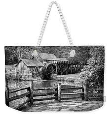 Old Mountain Morning Weekender Tote Bag