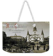 Old New Orleans Louisiana - Founded 1718 Weekender Tote Bag