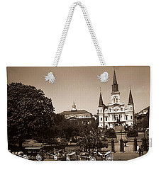 Old New Orleans Photo - Saint Louis Cathedral Weekender Tote Bag