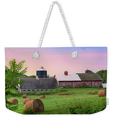 Weekender Tote Bag featuring the photograph Old New York by Bill Wakeley