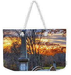 Old North Bridge - Concord Ma Weekender Tote Bag