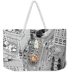 Old State House Weekender Tote Bag by Greg Fortier