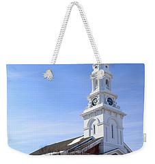 Old North Church, Portsmouth Weekender Tote Bag by James Kirkikis