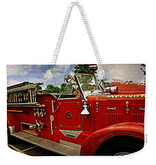 Weekender Tote Bag featuring the photograph Old Number 3 by Marty Koch