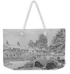 Old Packhorse Bridge Wycoller Weekender Tote Bag
