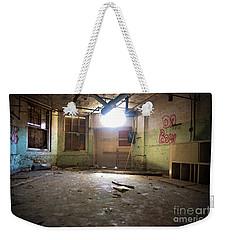 Old Paint Shop Weekender Tote Bag by Randall Cogle