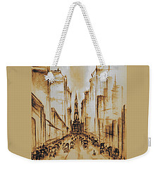 Old Philadelphia City Hall 1920 Weekender Tote Bag