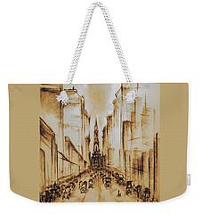 Old Philadelphia City Hall 1920 Weekender Tote Bag