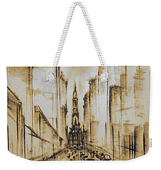 Old Philadelphia City Hall 1920 - Vintage Art Weekender Tote Bag