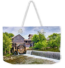 Old Pigeon Forge Mill Weekender Tote Bag