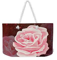 Old Pink Rose Weekender Tote Bag