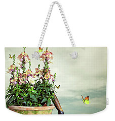 Old Plant Pot Weekender Tote Bag