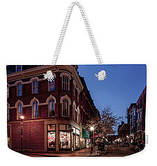Old Port, Portland Maine Weekender Tote Bag