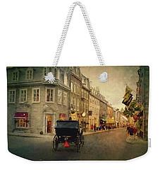 Old Quebec Weekender Tote Bag
