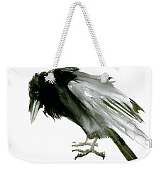 Old Raven Weekender Tote Bag by Suren Nersisyan