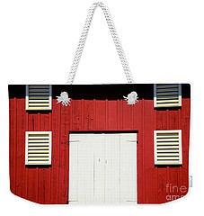 Old Red Barn Weekender Tote Bag by Paul W Faust - Impressions of Light