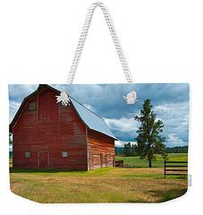 Old Red Big Sky Barn  Weekender Tote Bag