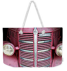 Weekender Tote Bag featuring the photograph Old Red by Stephen Mitchell