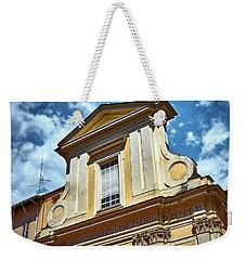 Old Roman Building Weekender Tote Bag