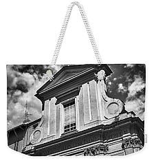 Old Roman Building In Black And White Weekender Tote Bag
