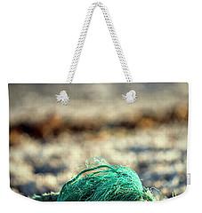 Old Rope By The Beach Weekender Tote Bag