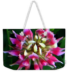 Old Rose Explosive Wildflower Weekender Tote Bag