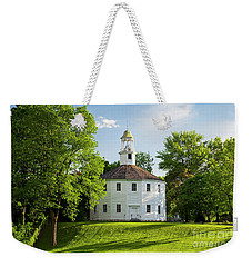 Weekender Tote Bag featuring the photograph Old Round Church Spring by Alan L Graham