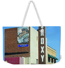 Old Roxy Theater In Muskogee, Oklahoma Weekender Tote Bag