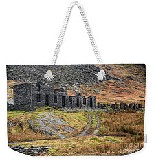 Weekender Tote Bag featuring the photograph Old Ruin At Cwmorthin by Adrian Evans