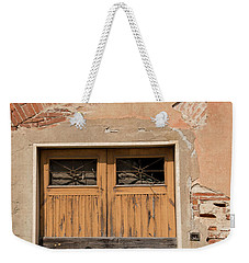 Old Rustic Italian Door Weekender Tote Bag