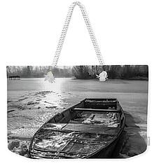 Old Rusty Boat Weekender Tote Bag