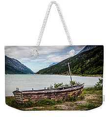 Old Sailboat Weekender Tote Bag