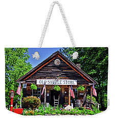 Old Sautee Store - Helen Ga 004 Weekender Tote Bag by George Bostian