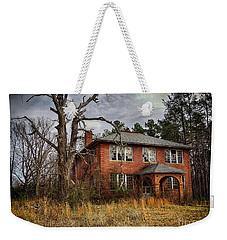 Old School House  Weekender Tote Bag by Melissa Messick
