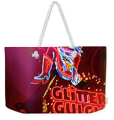 Old School Vegas Weekender Tote Bag