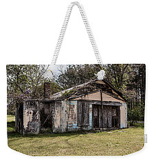 Weekender Tote Bag featuring the photograph Old Shack by Kim Hojnacki