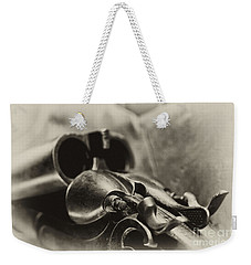 Old Shotgun Weekender Tote Bag by Wilma  Birdwell