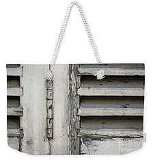 Weekender Tote Bag featuring the photograph Old Shutters by Elena Elisseeva
