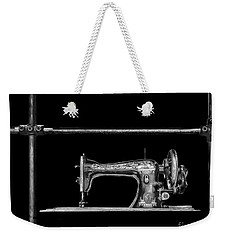 Old Singer Sewing Machine Weekender Tote Bag