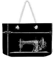 Old Singer Sewing Machine Weekender Tote Bag by Walt Foegelle