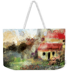 Old Spanish Village Weekender Tote Bag by Jessica Wright