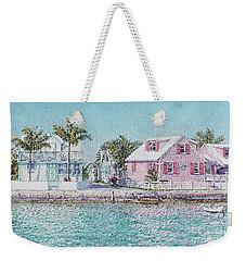 Old Spanish Wells Weekender Tote Bag