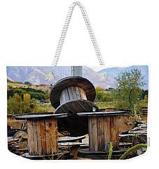 Old Spool Weekender Tote Bag