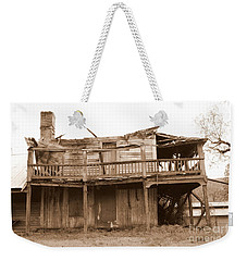 Old Stagecoach Stop Weekender Tote Bag by Marie Neder