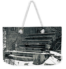 Old Stairs To Nowhere Weekender Tote Bag by Jeff Severson