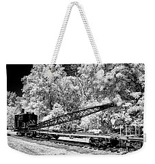 Old Steam Wrecker Car Weekender Tote Bag by Paul W Faust - Impressions of Light