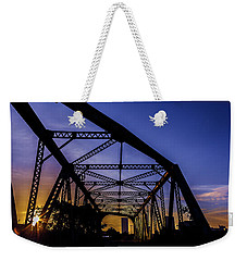 Old Steel Bridge Weekender Tote Bag