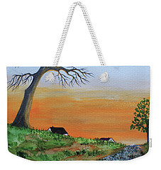 Old Stone Trail Weekender Tote Bag