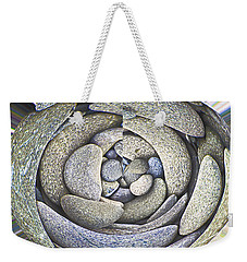 Weekender Tote Bag featuring the photograph Old Stoney by Nareeta Martin